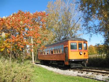 Fall Foliage by Trolley