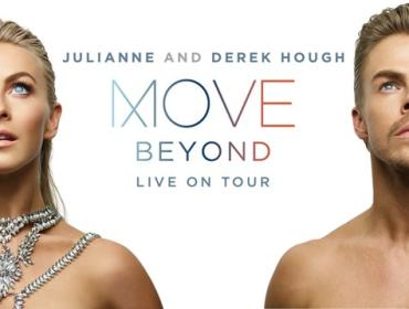Julianne and Derek Hough MOVE BEYOND Live On Tour