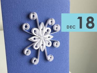 Paper Quilling: Snowflakes