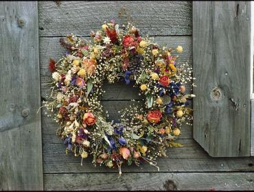 Dried Wreath Making with Flowerwell