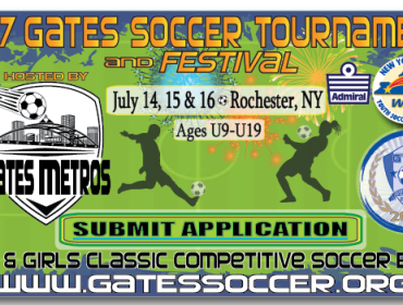 29th Annual Gates Metros Soccer Touranment and Festival