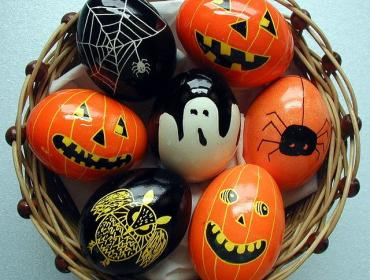 Pumpkin Eggs