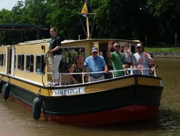 Wine Tasting Cruise on  Sam Patch Packet Boat  Wednesday, August 23, 6:30 PM