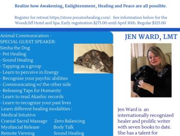 Jenuine Healing Weekend Retreat May 12-13