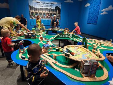 Thomas & Friends™: Explore the Rails! Exhibit Closing