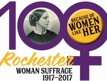 """""""Failure is Impossible"""": A Visit with Susan B. Anthony"""