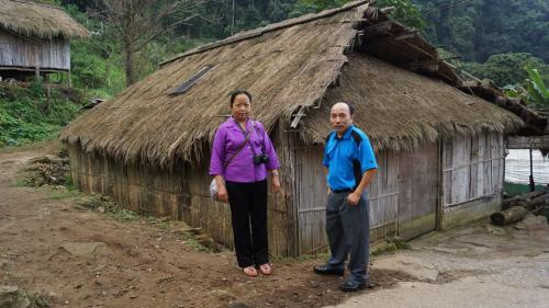 Hmong House in Chiang Mai, Thailand