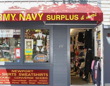 Army Navy Surplus