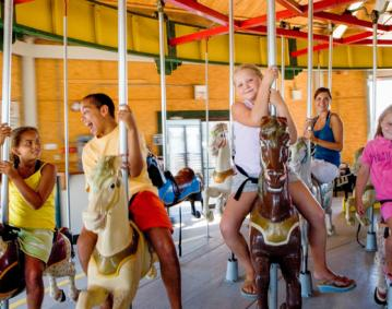Eastons Beach Carousel