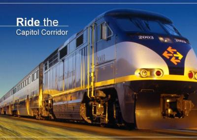 The Capitol Corridor is a convenient way to travel to Sacramento.