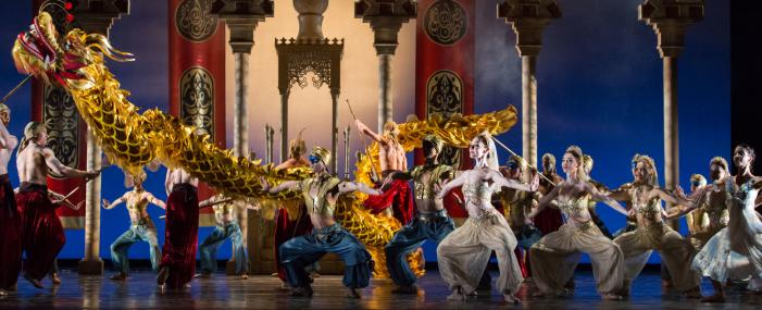 Houston Ballet Golden Dragon