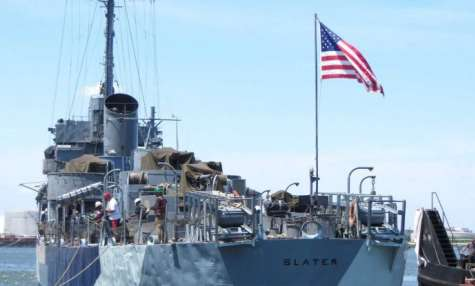 USS SLATER open for Independence Day