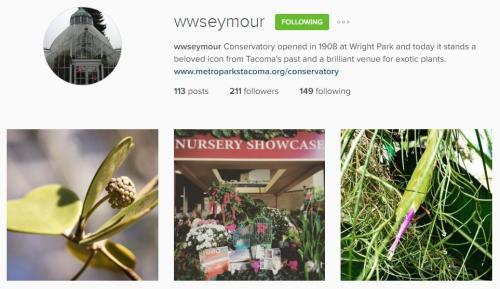 WW Seymour Conservatory Instagram