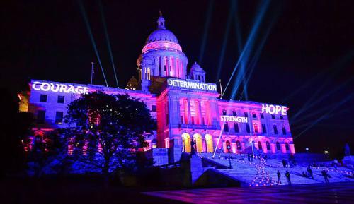 Gloria Gemma Flames of Hope Statehouse