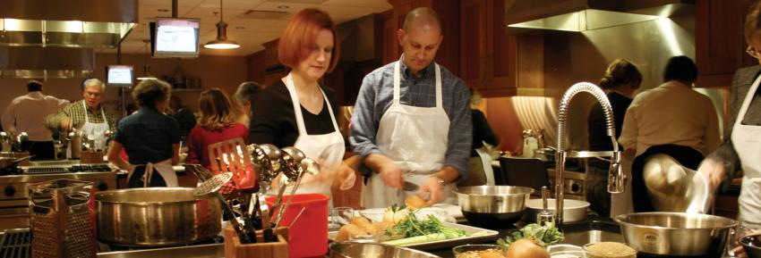 finger-lakes-new-york-wine-and-culinary-center-canandaigua-hands-on-kitchen-couple-cooking