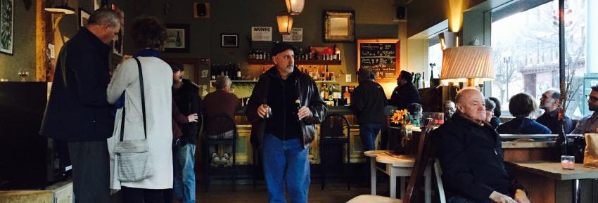 Interior shot of Kashong Creek Craft Cider in Geneva