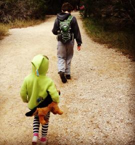 Hiking at Pedernales Falls