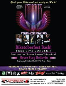 Journey Tribute Band - Racing & Card Club