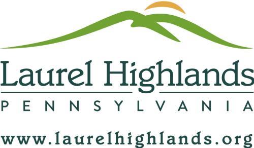 Laurel Highlands Logo with URL