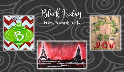 Black Friday Paint Class