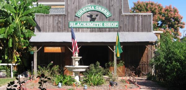 Gretna blacksmith shop