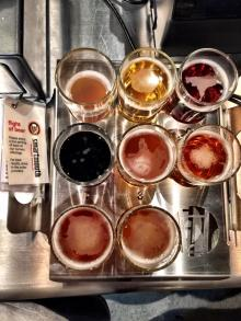 Smartmouth Beer Flight