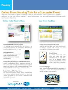 Conventions & Meetings Housing Flyer - Passkey PDF