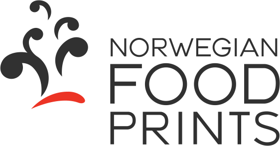 Norwegian foodprints logo
