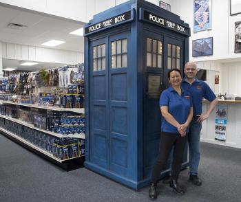 Doctor Who North America owners Jany & Keith Bradbury