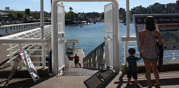 Aquabus Dock - Hornby Street