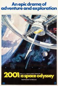 2001 space odessey PAC movie poster