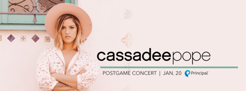 Cassadee Pope Post Game Concert