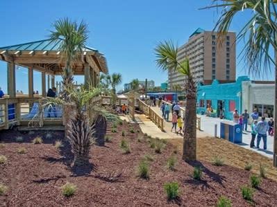 The Carolina Beach Boardwalk