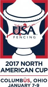 USA Fencing - 2017 North American Cup logo