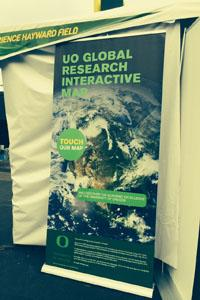 U of O's Global Research Interactive Map promotes their international academic reach