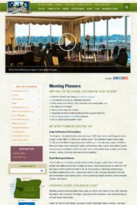 Meeting Planners website