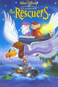 The rescuers PAC movie poster