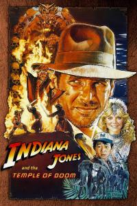 Indiana Jones Temple of Doom PAC Movie Poster
