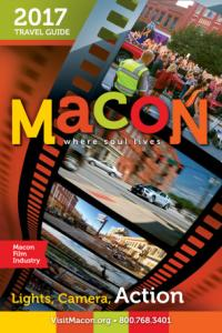 2017 Macon CVB Travel Guide Cover