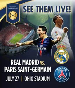 Soccer match promo