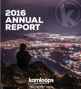 2016 Annual Report Cover Page