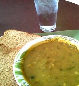 Ezekiel, 16 bean soup