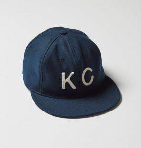 Baldwin Hat Navy/White