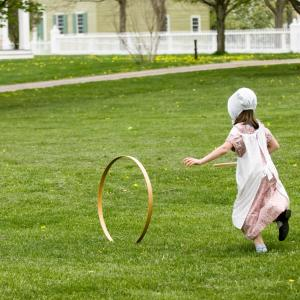 Kids games at the Genesee Country Village & Museum