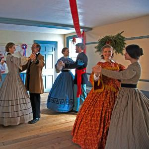 Dancers at Genesee Country Village & Museum