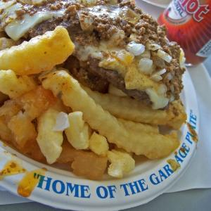 Famous Rochester Garbage Plate