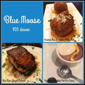 blue moose dinner