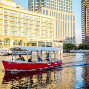 Eboat River Sunset Square