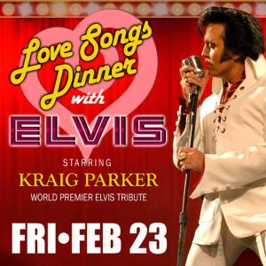 Kraig Parker Love Songs Dinner PAC live event