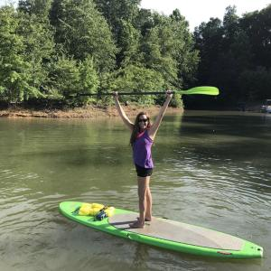 paddleboarding btown